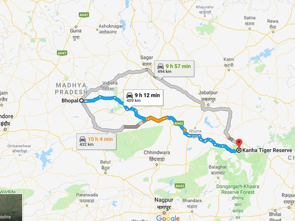 How To Reach Kanha National Park From Bhopal