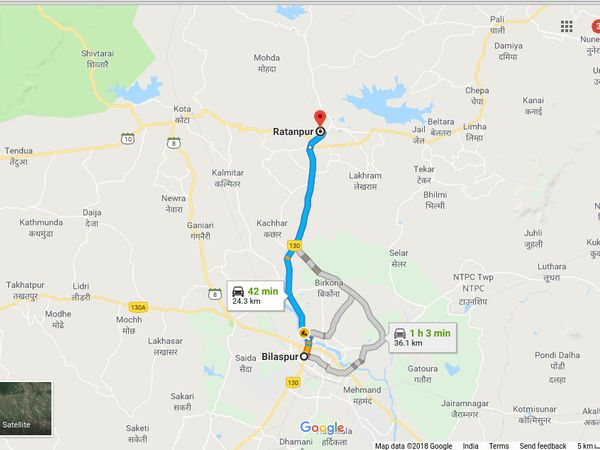 How To Reach Ratanpur