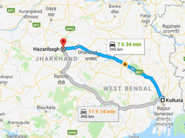How To Reach Hazaribagh