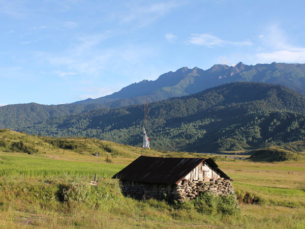 Mechuka Valley in Arunachal Pradesh