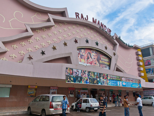 3. Watch A Movie At Raj Mandir Cinema