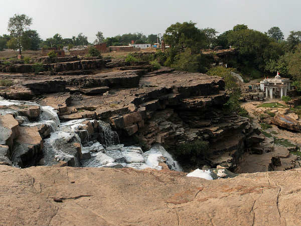 Waterfalls At Panna
