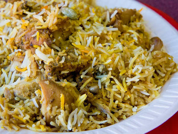 The World-famous Hyderabadi Biryani