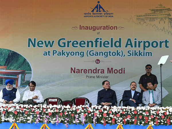 How The Idea Of Sikkim's First Airport Pitched In