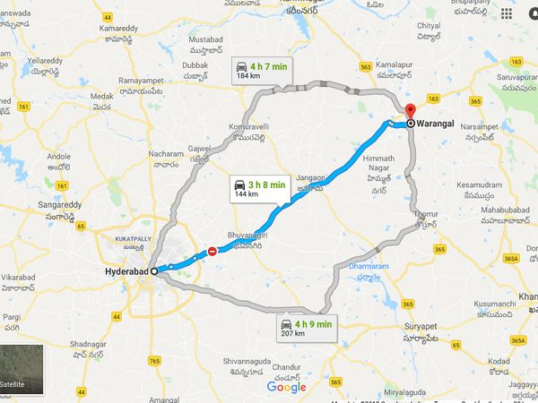 How To Reach Warangal From Hyderabad