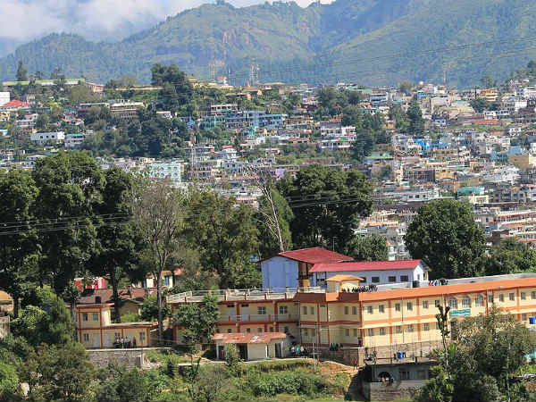 The Location And Surroundings Of Pithoragarh