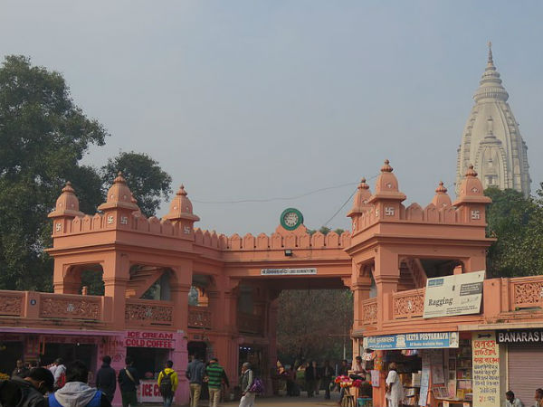 One Of The Most Visited Temples