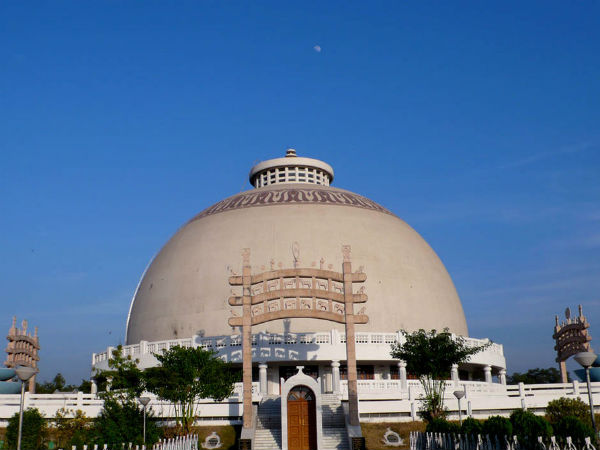 2) Houses The World's Largest Hollow Buddhist Stupa