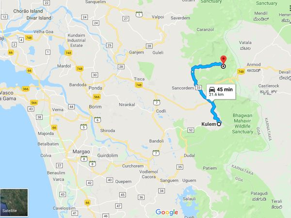 How To Reach Tambdi Surla Mahadev Temple