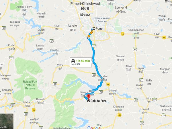 How To Reach Rohida Fort