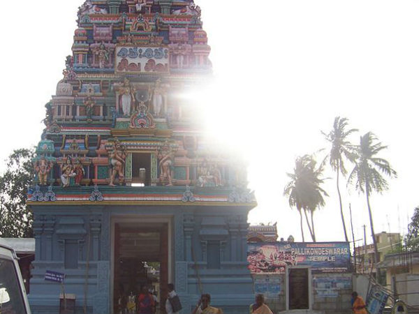 The History And Location Of Pallikondeswara Temple