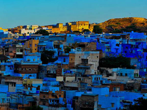1) The Blue City Of India