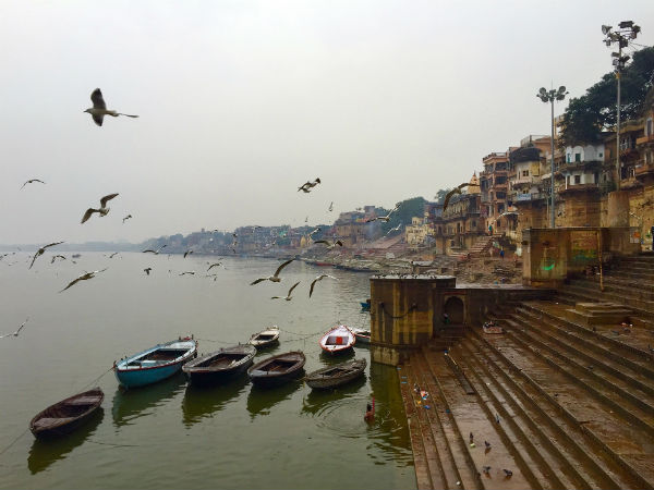 Beautiful Ghats Of Varanasi