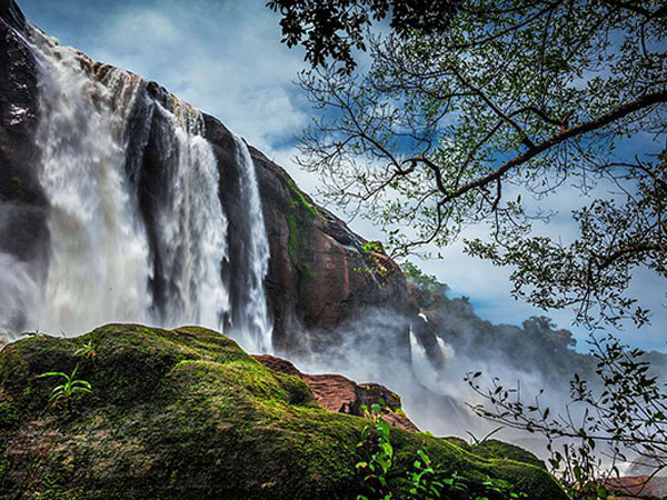 1) Athirapilly Falls: