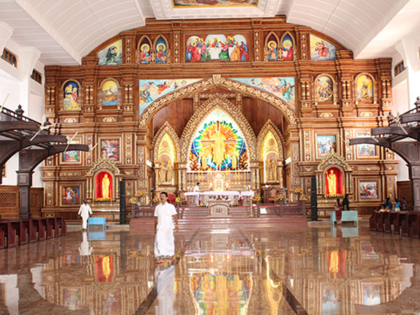 3) St. Thomas Syro-Malabar Catholic Church: