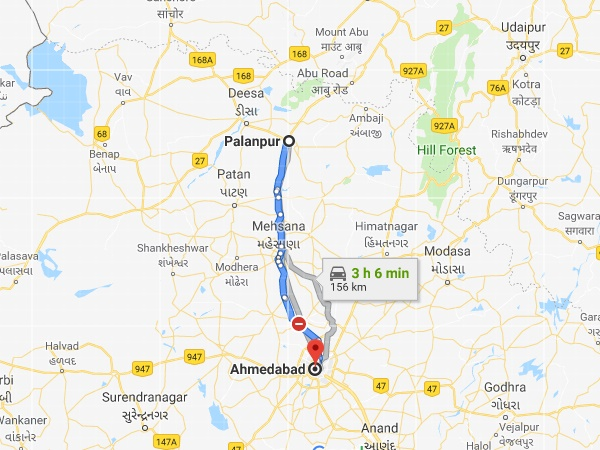 How To Reach Palanpur
