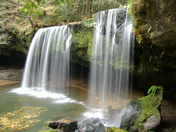4. Twin Vajra Waterfalls