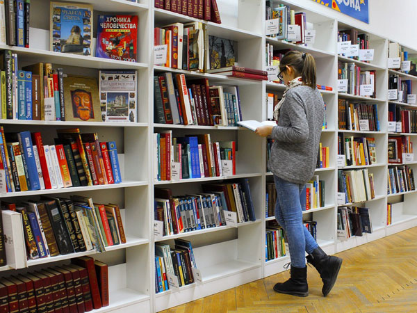 4. Be a library tourist