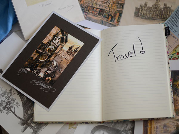5. Send travel postcards