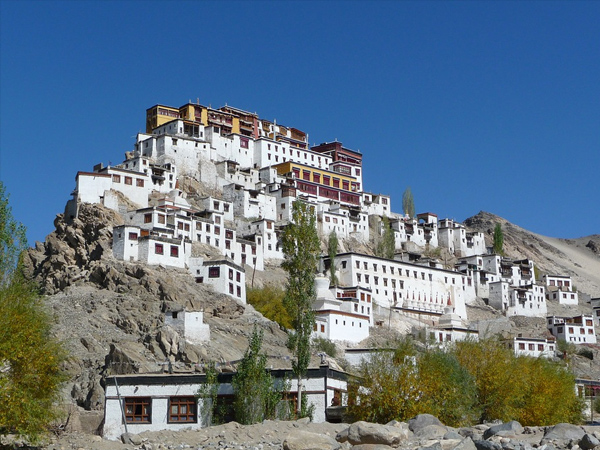 8. You can get the best view of monasteries