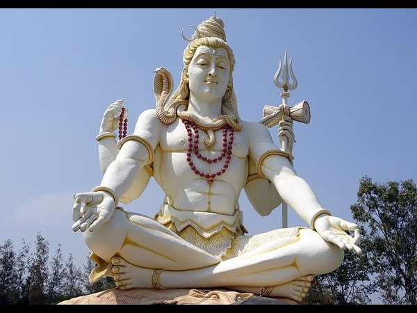 3. Be awe-inspired by the larger than life statue of Lord Shiva