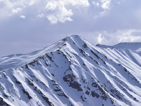 2. Visit Ladakh for snow-capped peaks and waterfalls