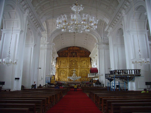 1. Se Cathedral Church, Goa