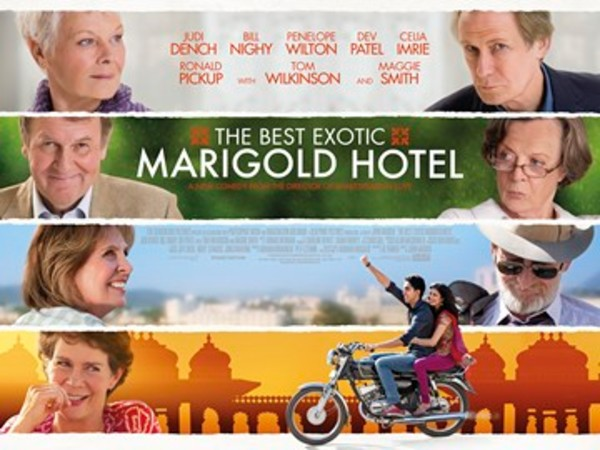 2. The Best Exotic Marigold Hotel