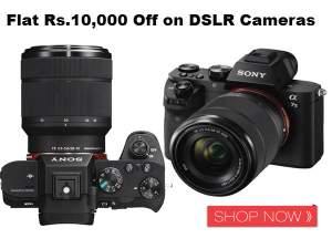 Flat Rs.10,000 Off on DSLR Cameras