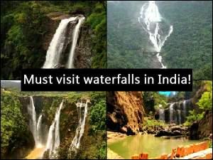 Unique Waterfalls In India