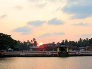 The Holy Abode Of Rama At Thriprayar