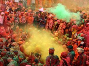 Popular Holi Festival Events India 000463 Pg