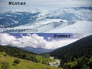 Winter Summer Destinations India