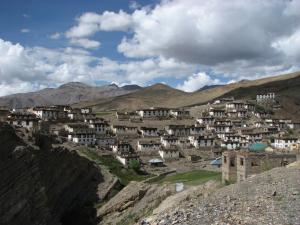 Kibber Village In Spiti