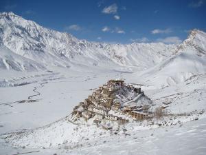 Seven Wonder Places Of India Key Monastery In Himachal Pradesh