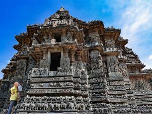 Hoysaleshwara Temple In Halebidu