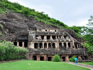 Undavalli Caves Near Vijayawada