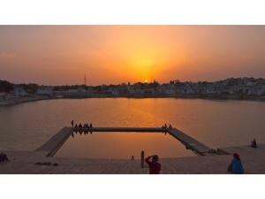 Lord Brahma Temple In Pushkar