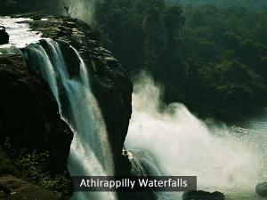 The Athirappilly Falls Kerala
