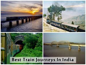 Best Train Journeys In India