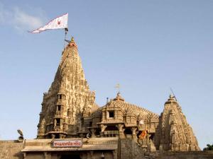 Dwarkadish Temple In Dwarka Gujarat