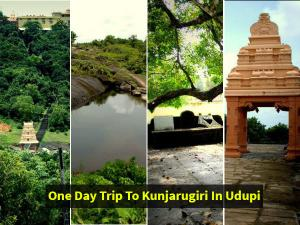 One Day Trip At Kunjarugiri In Udupi