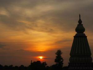 The Spiritual Town Of Maheshwar