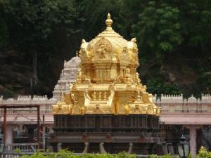 The Holy Shrine Of Kanaka Durga At Vijayawada