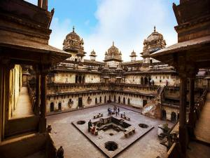 The Temples And Palaces Of Orchha From Delhi