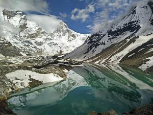 To The Breathtakingly Beautiful Glacial Lake Of Kedar Tal