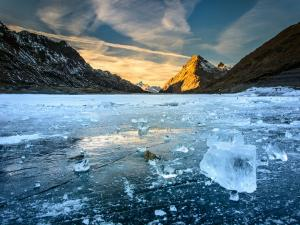 A Frozen River Trek In Ladakh Other Than Chadar