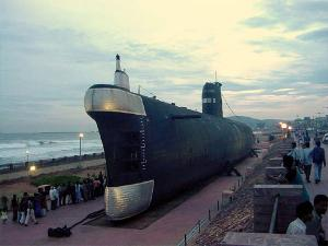 Ever Been To A Beach In Vizag With A Submarine Museum Before