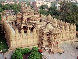Hutheesing Jain Temple An Impeccable Work Of Architecture