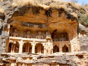 Siddhachal Caves Explore The Beauty Of Jain Statues